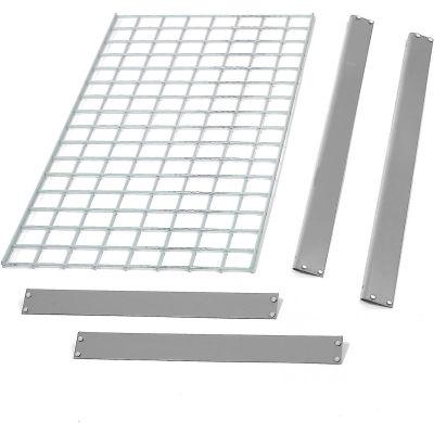 "Global Industrial™ Bulk Rack Shelf Wire Deck 96""W x 48""D - Gray"