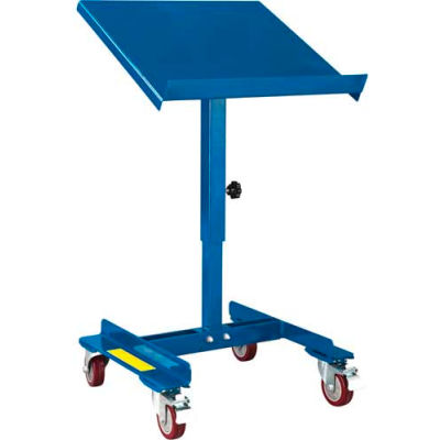 """Global Industrial™ Tilting Work Table With Friction Screw, 22""""L x 21""""W, 150 Lb. Capacity"""