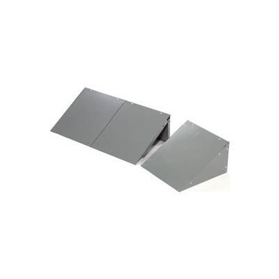 Global™ Locker Slope Top Kit 12x12 Gray