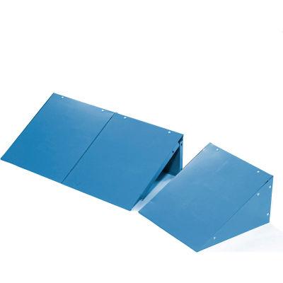 Global™ Locker Slope Top Kit 12x15 Blue