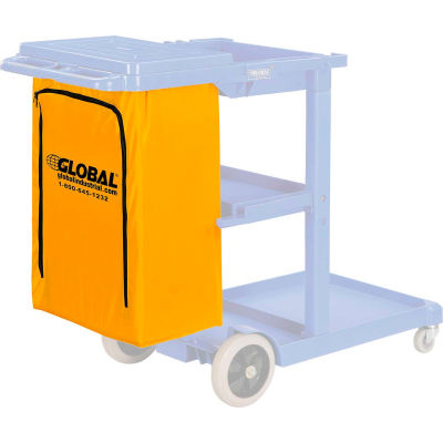 Global Industrial™ Replacement Vinyl Bag for Janitorial Cart