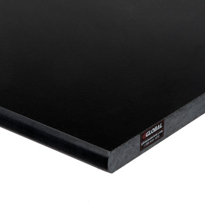 """Global Industrial™ 72""""W x 36""""D x 1""""Thick Phenolic Resin Safety Edge Workbench Top"""