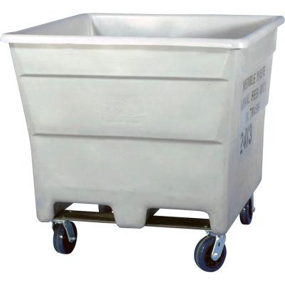 Bonar Plastics FDA Plastic Storage Container With Casters 1927000M95404 - 43-1/2 X 43-1/2 X 43-1/2