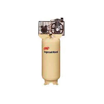 Ingersoll Rand SS3L3, 3 HP, Single-Stage Comp, 60  Gal, Vertical, 135 PSI, 11.3 CFM, 1-Phase 230V