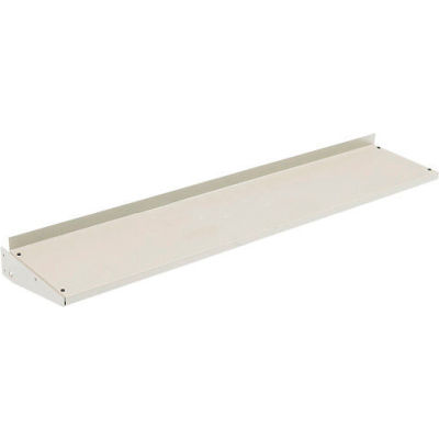 """Cantilever Steel Shelf For Bench Uprights - 72""""W x 12""""D - Tan"""