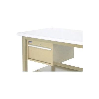 "Stacking Workbench Drawer 17-1/4""W x 20""D x 12""H - Tan"