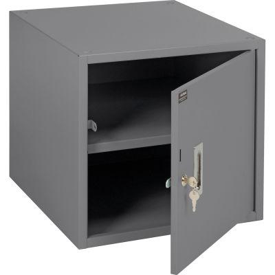 "Global Industrial™ Storage Workbench Cabinet 17-1/4""W x 20""D x 16""H - Gray"