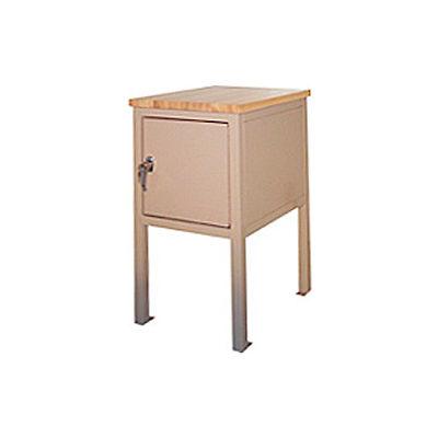18 X 24 X 36 Cabinet Shop Stand - Shop Top - Beige