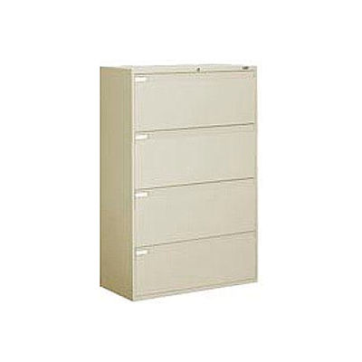 Global 9300 Series 36 W 4 Drawer, Global 4 Drawer Lateral File Cabinet