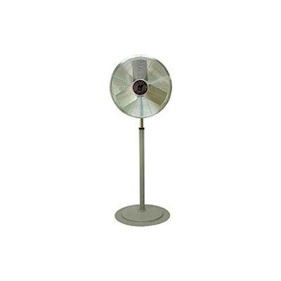 TPI CACU24P,24 Inch Pedestal Fan Non Oscillating 1/4 HP 3400 CFM 1 PH