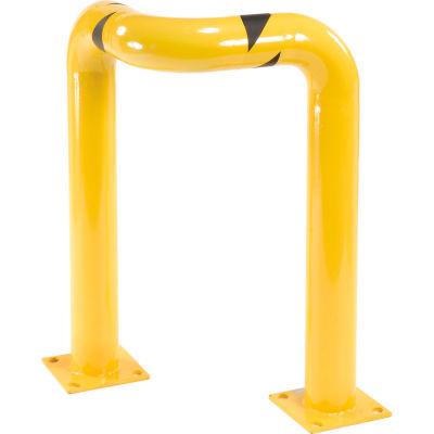 "Steel Triple Elbow Corner Guards 36""H X 24""L"
