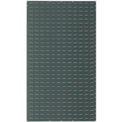 Global Industrial™ Louvered Wall Panel Without Bins 36x61 Gray