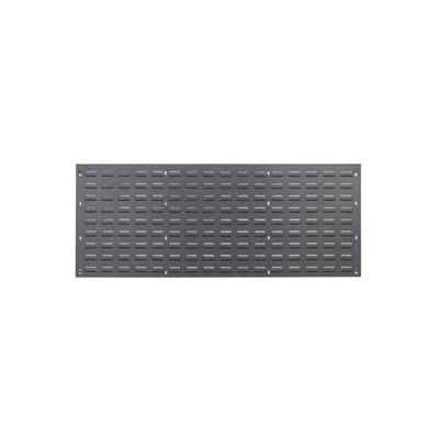 Global Industrial™ Louvered Wall Panel Without Bins 48x19 - Pkg Qty 2