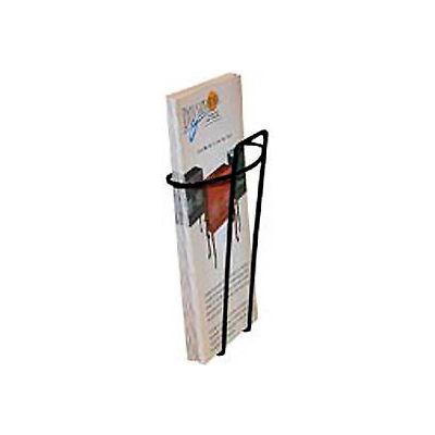 Wire Brochure Holder Black 1 Pocket
