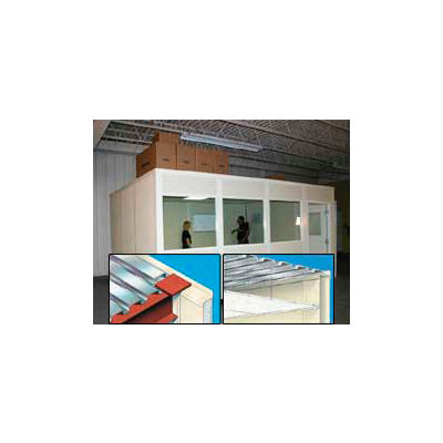 Modular Partition Storage Roof For Four Wall 20' x 20'