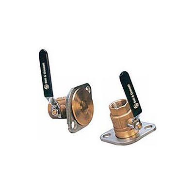 3/4 In. Sweat Pump Isolation Flange (Pair) - Pkg Qty 2