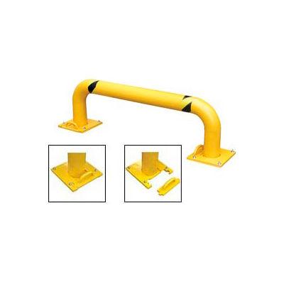 "Removable Steel Rack Guard 9""H X 48"" L"