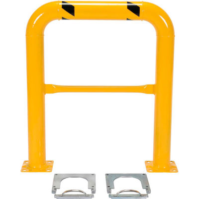 "Removable Steel Machinery Rack Guard 42""H X 36"" L"