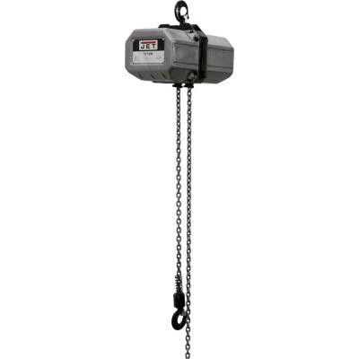 JET® Electric Chain Hoist 1/2 Ton 10' Lift, 1 Phase 115/230V