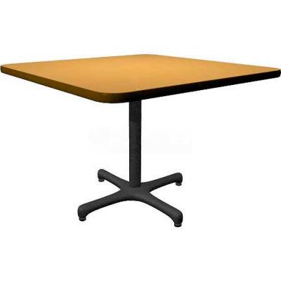 "Allied Plastics Square Restaurant Table - 42"" - Oak"