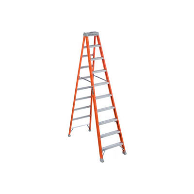 Louisville 10' Fiberglass Step Ladder - 300 lb Cap. - FS151-0