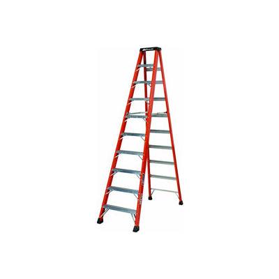 Louisville 10' Fiberglass Step Ladder - 375 lb Cap. - FS1410HD
