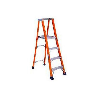 Louisville 10' Fiberglass Platform Step Ladder - 300 lb Cap. - FP1510