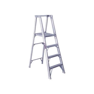 Louisville 6' Aluminum Platform Step Ladder - 300 lb Cap. - AP1006