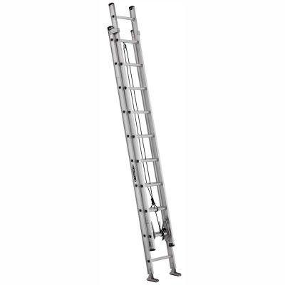 Louisville 20' Aluminum Extension Ladder - 300 lb Cap. - AE2220