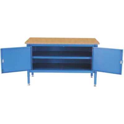 60 x 30 Security Cabinet Bench - Shop Top Safety Edge