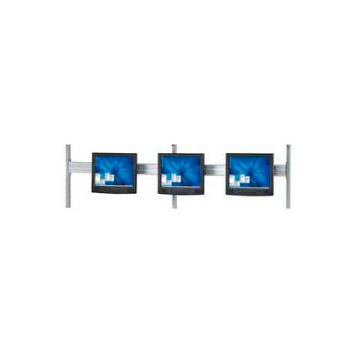 """Global Industrial™ Flat Panel Monitor Track For 96"""" LAN Station"""