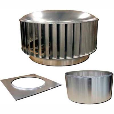 Envira-North Hurricane™ Turbine Ventilator 36 Inch Straight Flue