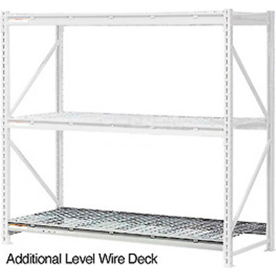 """Global Industrial™ Additional Level 60""""W x 36""""D Wire Deck"""