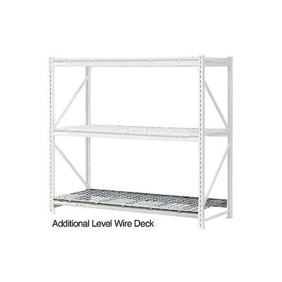"""Global Industrial™ Additional Level 72""""W x 18""""D Wire Deck"""