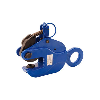 Locking Vertical Plate Clamp Lifting Attachment LPC-60 6000 Lb. Capacity