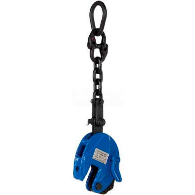Vertical Plate Clamp with Chain Lifting Attachment CPC-10 1000 Lb. Cap.