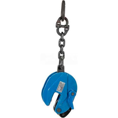 Vertical Plate Clamp with Chain Lifting Attachment CPC-20 2000 Lb. Cap.