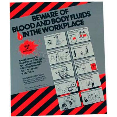 Poster, Bloodborne Pathogens, 24 x 20