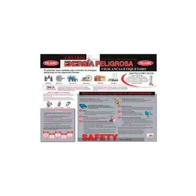 Poster, Hazardous Energy Control (Spanish), 18 x 24