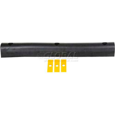 "Extruded Rubber Fender Bumper M-4-36 - 36""L x 4.25""W x 4""H"