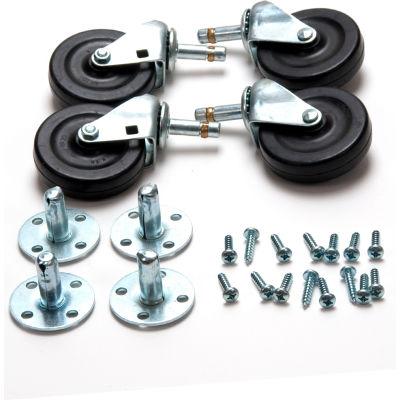 Powr-Flite® 1/4 HP Axial Floor Dryer Caster Kit (Set Of 4) - PDF5C
