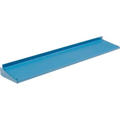 "Global Industrial™ Cantilever Upper Steel Shelf For Bench Uprights - 72""W x 12""D - Blue"