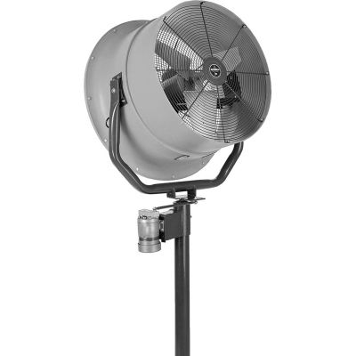 Jetaire® 24 Inch High Velocity Fan, Oscillating, 230 V, 1PH, 5900 CFM, 1 HP, Gray HV2415OC-W