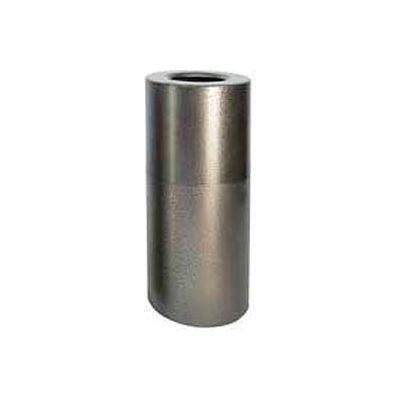 Aluminum Trash Container - Silver Vein 20 Gallon Capacity - AL18-SVN