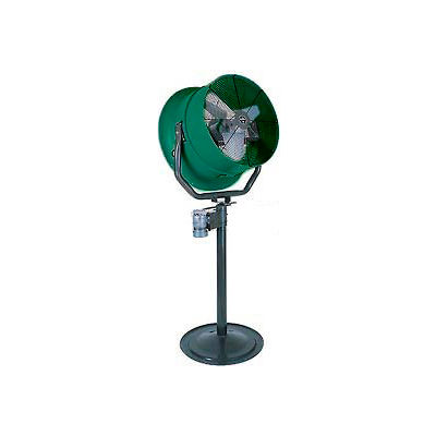"""Jetaire® 30"""" Oscillating Pedestal Fan With Poly Housing 1 HP, 230V, 1PH, 10600 CFM"""