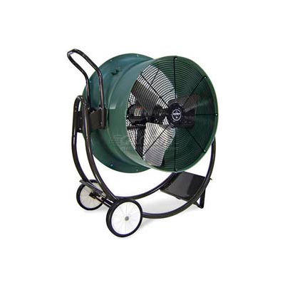 """Triangle Engineering 30"""" Portable Blower Fan With Poly Housing HVD3015 1 HP 10600 CFM"""