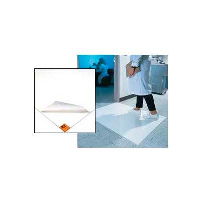 Wearwell® Clean Room Mat 2' x 3.75' White
