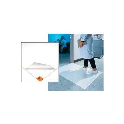 Wearwell® Clean Room Mat 3' x 3.75' White