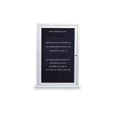 """United Visual Products One-Door Indoor Letter Board - 18""""W x 24""""H"""