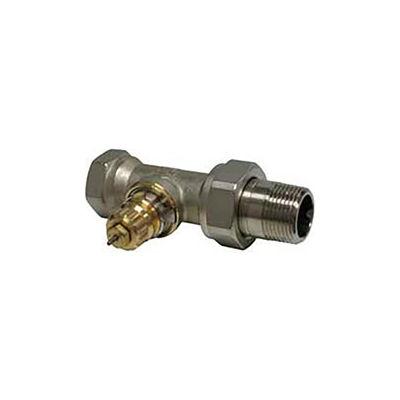 "Radiator or baseboard  valve body - 3/4"" straight for 2-pipe steam"